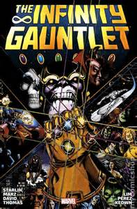 Infinity Gauntlet 1 Comic Books In Infinity Gauntlet