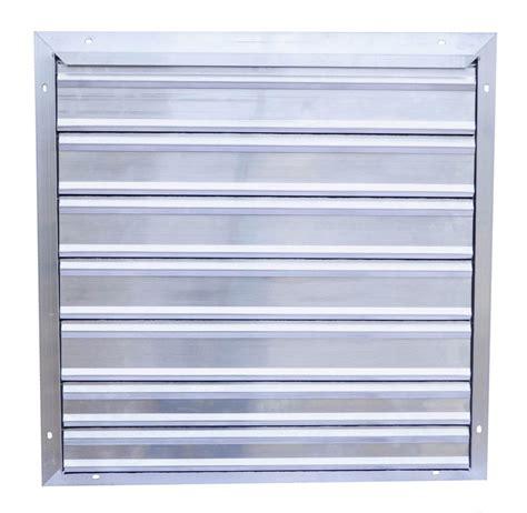 shutter exhaust fan 24 24 quot snap fan exhaust shutter snap fan solar national air
