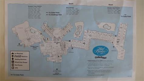 hotel breakers room layout hotel map picture of cedar point s hotel breakers