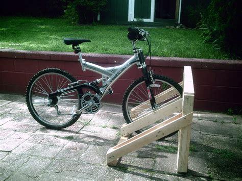 Bike Rack Plans by Wood Diy Bike Rack Plans Free
