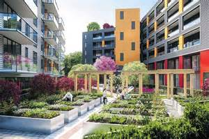 Interior Courtyard new vancouver development includes courtyard community