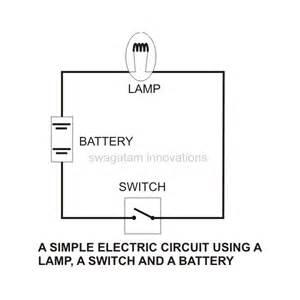 Simple battery schematic batteries light bulb simple circuit