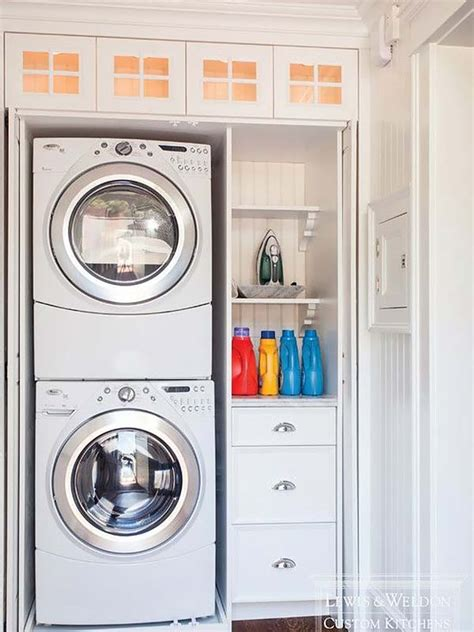 Small Laundry Closet Ideas by Small Laundry Room Design Ideas 29 1 Kindesign