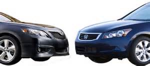 Honda Accord 2010 Vs Toyota Camry 2010 2011 Toyota Camry Vs 2010 Honda Accord Competitive