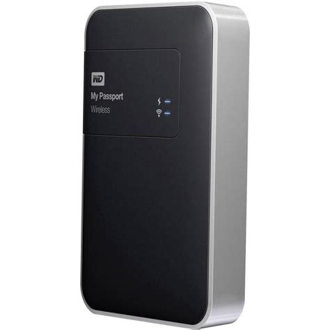 Wd My Passport Wireless Usb 30 External Drive 1tb Black 1 wd my passport wireless 1tb usb 3 0 external hdd ebuyer