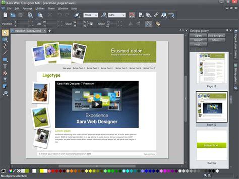 templates for xara web designer xara web designer mx premium template download evilthrobbing
