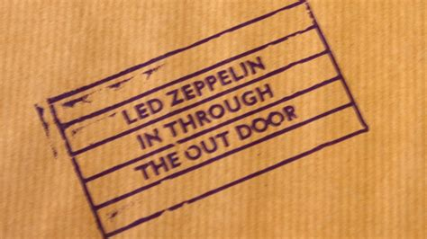 Led Zeppelin In Through The Out Door by Led Zeppelin In Through The Out Door Songs Ranked Worst To