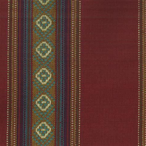 southwestern fabrics upholstery ddr 05 sandoval serape chili red southwestern stripe