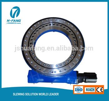 hydraulic slew motor slew drive with hydraulic motor use for crane and grapple