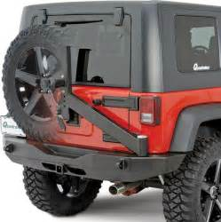 Rear Bumper And Tire Carrier For Jk Jeep Rock Slide Engineering Rb F100 Jk Rock Slide Engineering