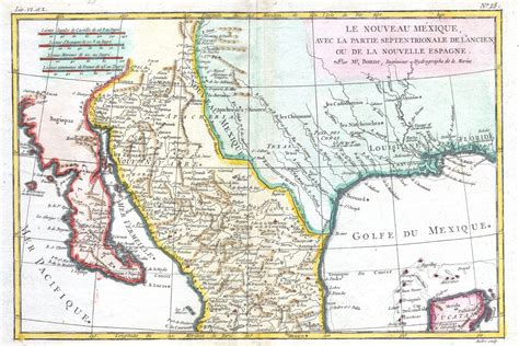 map of new mexico and texas file 1780 bonne map of texas louisiana new mexico geographicus texas2 bonne 1780 jpg