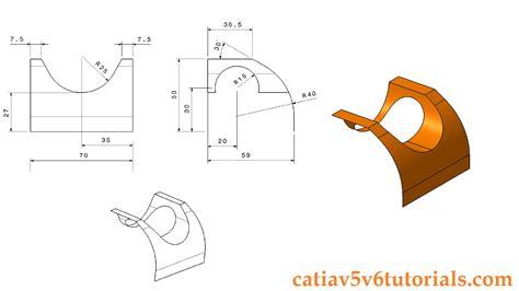 pattern sketch in catia generative shape design 1 catia v5 beginner tutorial