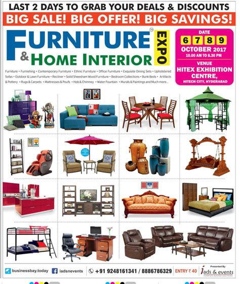 furniture home interior expo last 2 days to grab your
