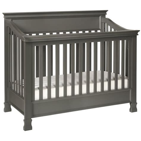 Gray Convertible Crib Million Dollar Baby Classic Foothill 4 In 1 Convertible Crib In Gray M3901mg