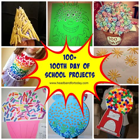 one day craft projects 100 100th day of school projects