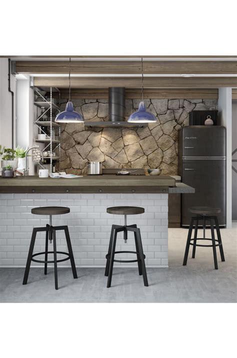 Amisco Architect Stool by Amisco Architect Backless Stool W Wood Seat Free