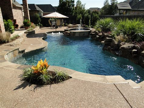 swimming pool in backyard backyard landscaping ideas swimming pool design