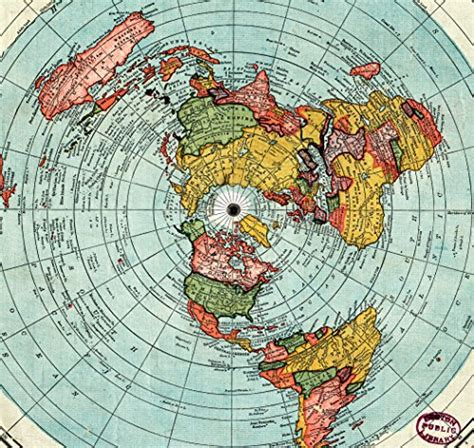 standard map flat earth map gleasons new standard map of the world