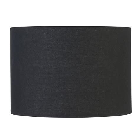 Choosing A Lampshade by Verve Design Medium Black Dusk Mix Amp Match Barrel Lamp