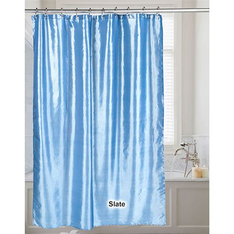 shimmer shower curtain carnation home fashions shimmer shower curtain boscov s