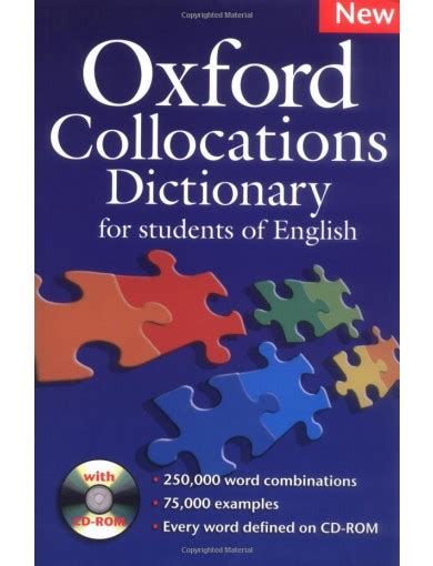 oxford collocations dictionary for 0194325385 oxford collocations dictionary pack dictionary and cd rom fahasa com
