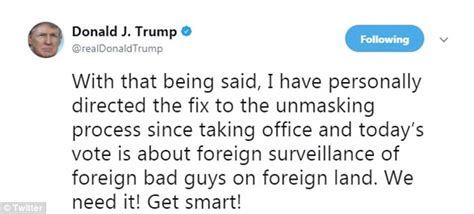 section 702 of the foreign intelligence surveillance act trump contradicts white house on fisa section 702 renewal
