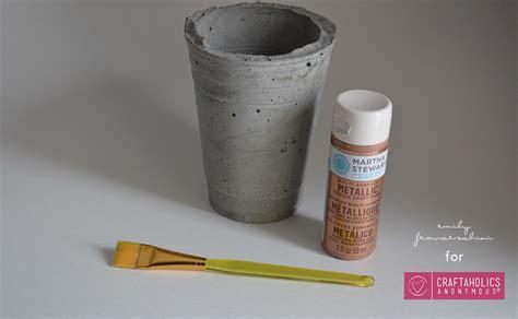 craftaholics anonymous 174 diy cement planters using