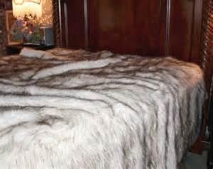 faux fur king size comforter plush faux fur bedspread reg king size comforter