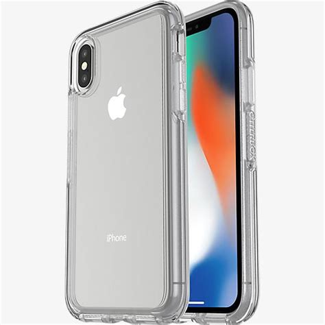otterbox symmetry clear series for iphone xs x verizon wireless