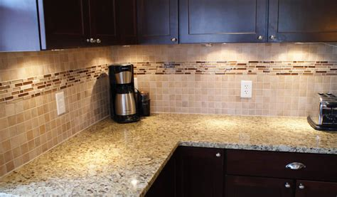 pictures of glass tile backsplash in kitchen the organized habitat the backsplash