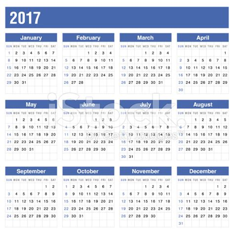 Printable Yearly Calendar 2017 With Holidays Printable Calendar 2017 Blank Calendar Templates