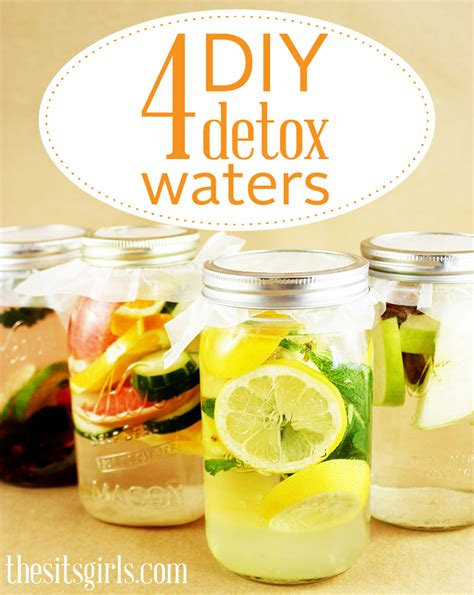 How To Make The Lemon Detox Water by 4 Diy Detox Waters