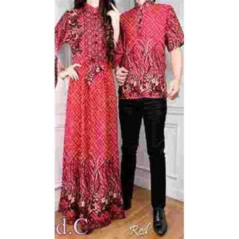 Baju Batik Gamis Pasangan baju muslim gaun batik gamis pasangan winda