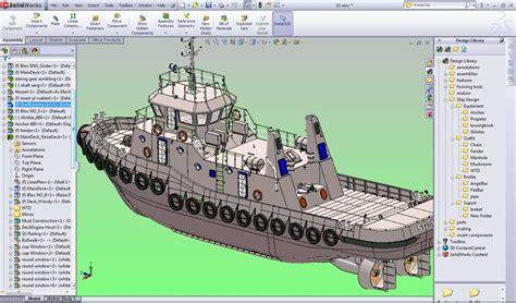 tugboat design solidworks for design tugboat