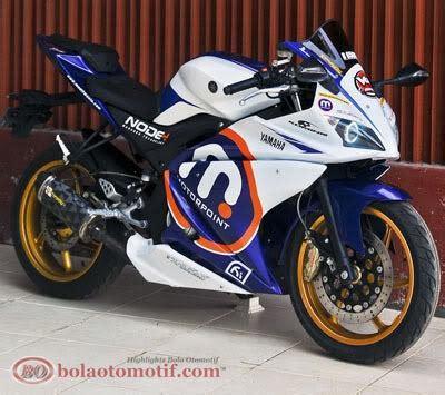 Lu Hid New Vixion Lightning modifikasi yamaha v ixion konsep yzf r125 bolaotomotif