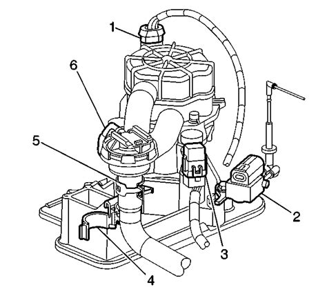 1999 Chevrolet Cavalier Secondary Air Injection System