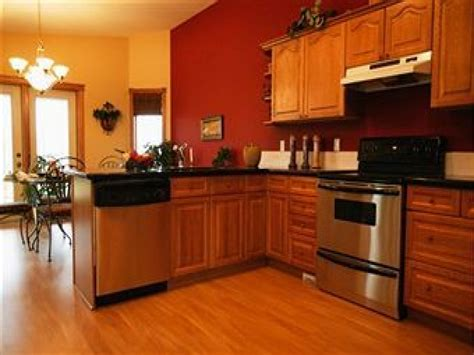 kitchens with oak cabinets kitchen wall paint colors with