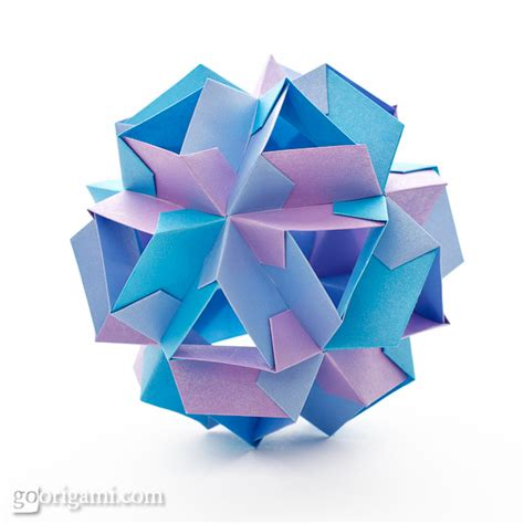 Origami On The Go - kusudama origami gallery go origami