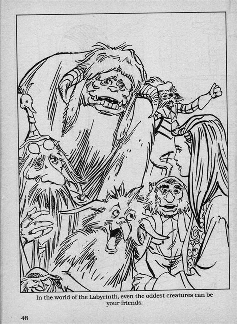 labyrinth movie coloring pages now sketch coloring page