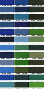 ral color chart ral color chart ral colour chart