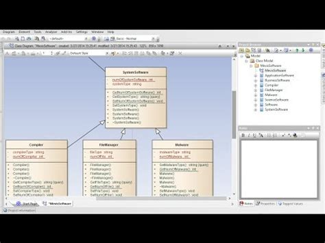 membuat class diagram di ea how to create class diagram from code enterprise