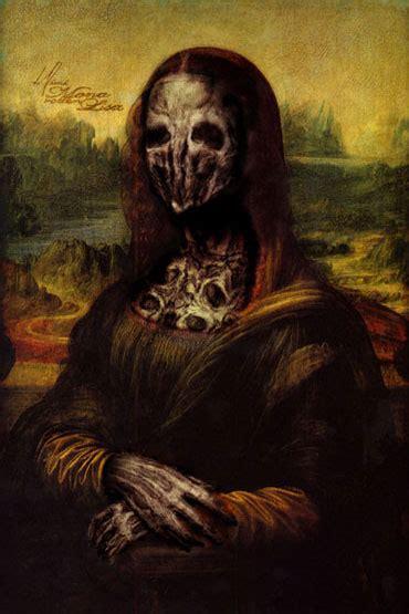imagenes terrorificas y macabras retratos macabros de mona lisa taringa