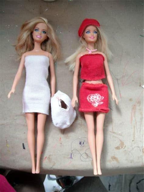 como hacer ropa para barbie ropa para barbie rapido facil y paso a paso