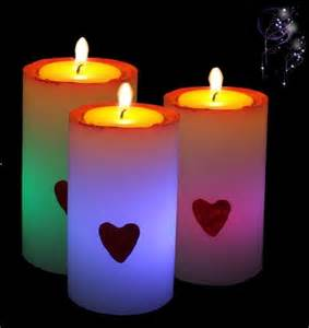 colorful candles maggic s day led colorful candle sw ca031