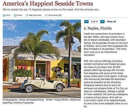 naples happiest naples ranks as second happiest seaside town