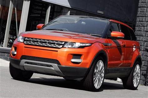 burnt orange range rover kahn range rover autos post