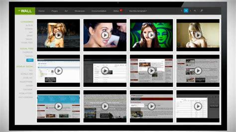 template joomla youtube ja wall impressive responsive joomla 2 5 template
