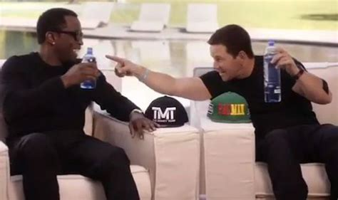 Diddy makes mega bet with Mark Wahlberg for Mayweather
