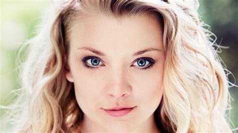 natalie brown hair blue eyes girl wallpaper face women model blonde long hair blue