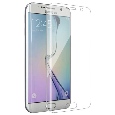 Tempered Glass Samsung On 7 galaxy s7 edge tempered glass clear